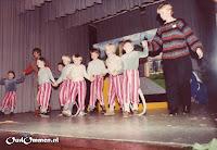 1983. Wij vieren dit feest met een musical in het Hervormd Centrum in Ommen Groep 1