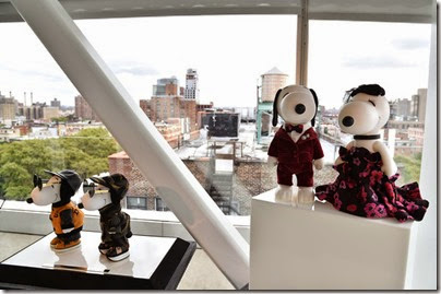 Peanuts X Metlife - Snoopy and Belle in Fashion Exhibition Presentation (Source - Slaven Vlasic - Getty Images North America) 11