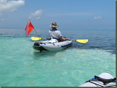 circumnavigating Sunshine Key Rv Park by kayak