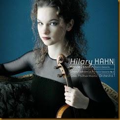 Shostakovich Concierto para violin 1 Hahn