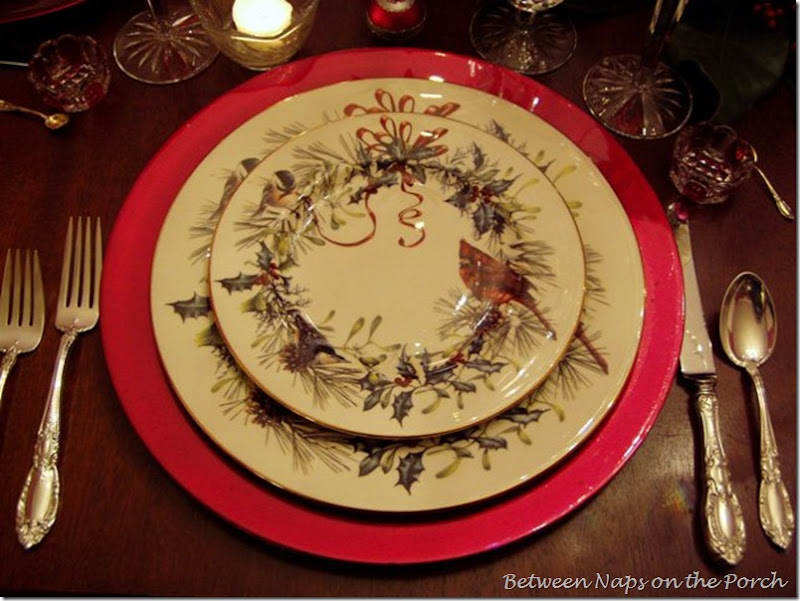 Christmas Tablescape with Lenox Winter Greetins