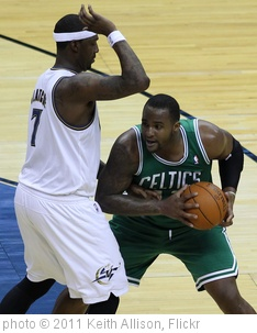 'Andray Blatche and Glen Davis' photo (c) 2011, Keith Allison - license: http://creativecommons.org/licenses/by-sa/2.0/