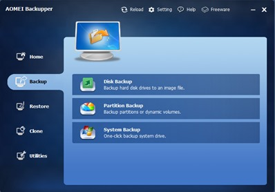 Free Windows Disk Backup Software
