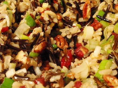 Cranberry Pecan Wild Rice 6