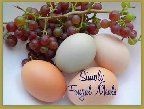Simply frugal meals