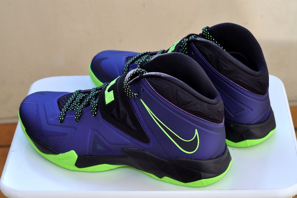 adc044a3e591 ... Nike Zoom Soldier VII Court PurpleFlash Lime is Now Available ...