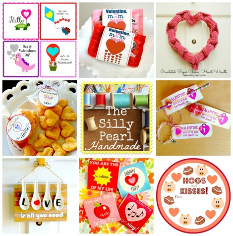 Valentines Day Crafts Printables and Recipes at The Silly Pearl