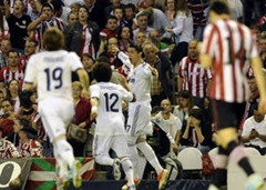 Hasil Athletic Club vs Real Madrid