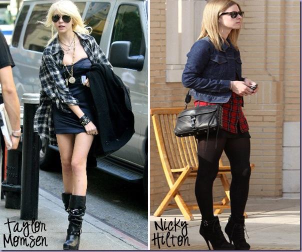 Camisa-Xadrez-Taylor-Momsen-Nicky-Hilton