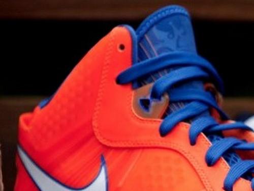 Leaked Nike LeBron 8 V2 Hardwood Classic PE