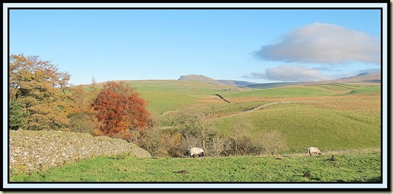 Pen-y-ghent from near Stainforth