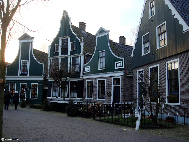 gorgeous houses at the zaanse schans in zaandam in Zaandam, Noord Holland, Netherlands