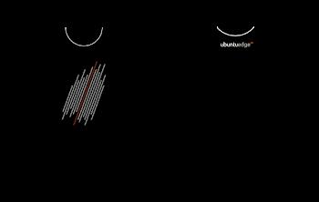 T-Shirt Ubuntu Edge