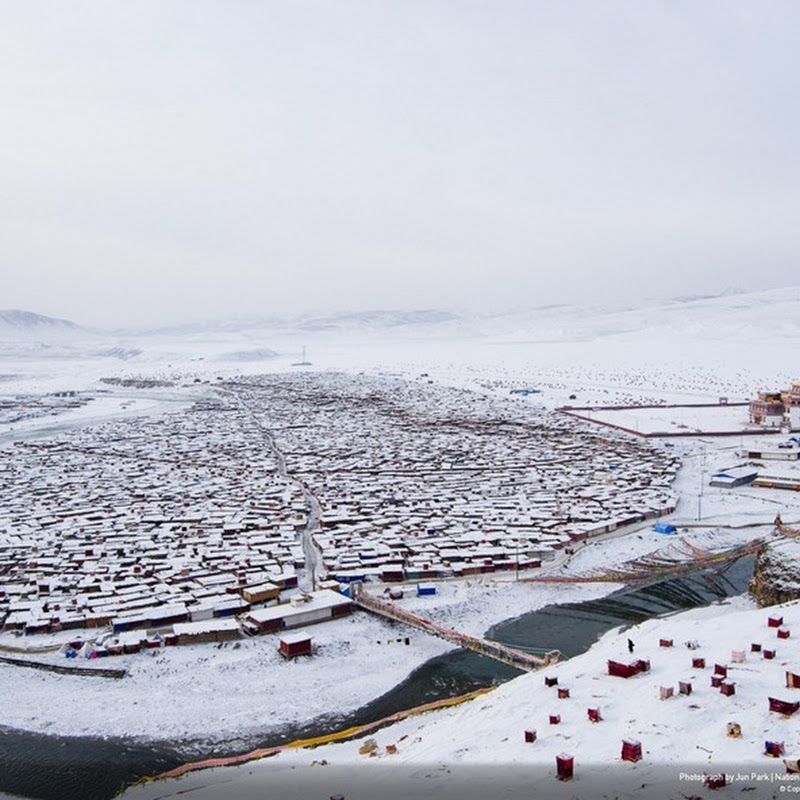 Yarchen Monastery, China