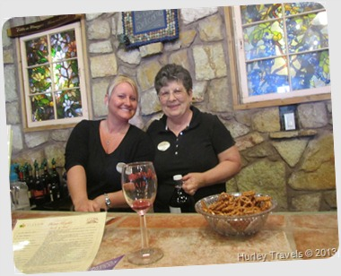 Deming, New Mexico , St. Clair Winery employees.