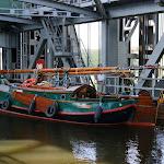 DSC00072.JPG - 17.05.2013. Podnośnia statków w Niederfinow; piękny old - timer holenderski pod niemiecka bandera