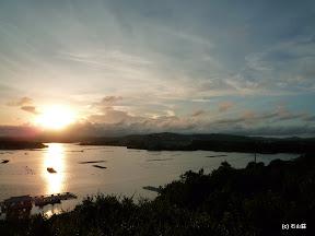 2010/08/29の西山慕情が丘です。時刻は18:18誰も居ない場所で景色を独り占めしてました。
