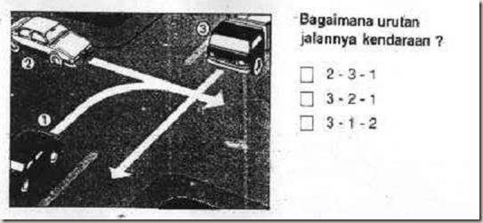Panduan Pembuatan Sim A Amp C Hak Utama Pada Persimpangan