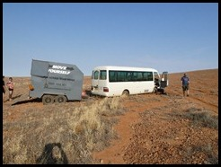 Australia, Coober Pedy, Stuck in  the dust, 15 October 2012 (3)