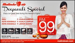 Malindo Air Deepavali Flights Promotion 2013 Malaysia Deals Offer Shopping EverydayOnSales