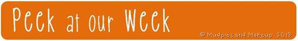 Peek at our Week1