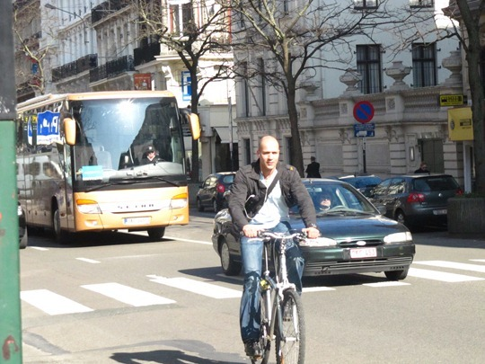 Bicycle in Brussels, Belgium