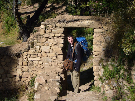 Happy that I get to go down the Escalera del Inca (Incan Stairway) this time around!