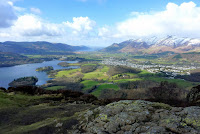 View from the top of Walla Crag