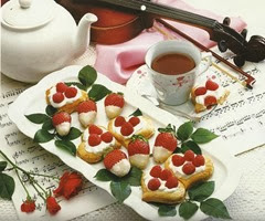 Raspberry Phyllo Tarts