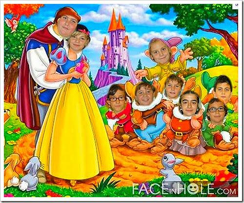 David, Daniela, Diego, Sergio, Alba, Antón, Sara Vázquez, Adrián Blanco, Ignacio... en Disneylandia?