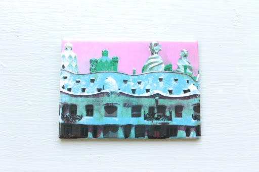 A Gaudi magnet I brought back from a year in Barcelona