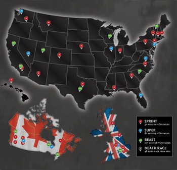 reebok spartan race map