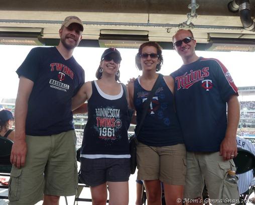 Erik, Julie, Shawna and Mitch (photo taken by Anthony)