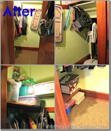 Spare Bedroom Closet After