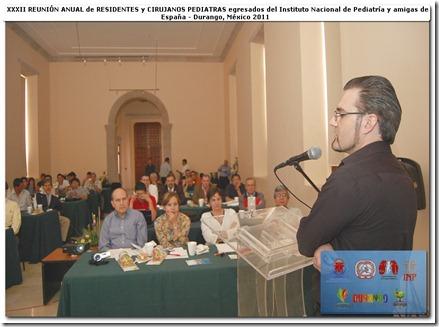 """Conferencia """"Acelerador de partículas: luces al futuro medical"""" y la audicia de cirujanos pediatras mexicanos y españoles"""