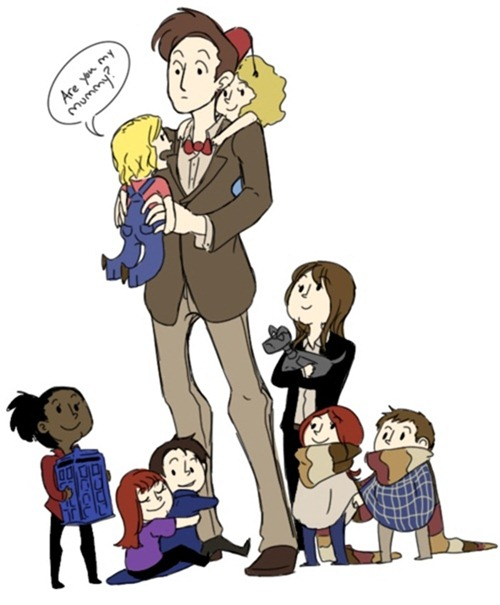 The Doctor Babysitting His Companions