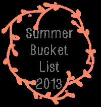 summer buckek list