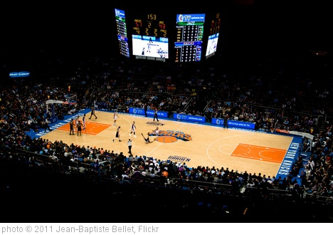 'New-York Knicks in the Madison Square Garden' photo (c) 2011, Jean-Baptiste Bellet - license: http://creativecommons.org/licenses/by/2.0/