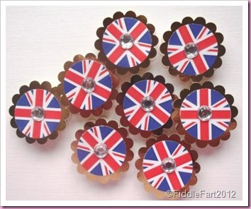 Diamond Jubilee Crafts Elizabeth Shaw Mints.