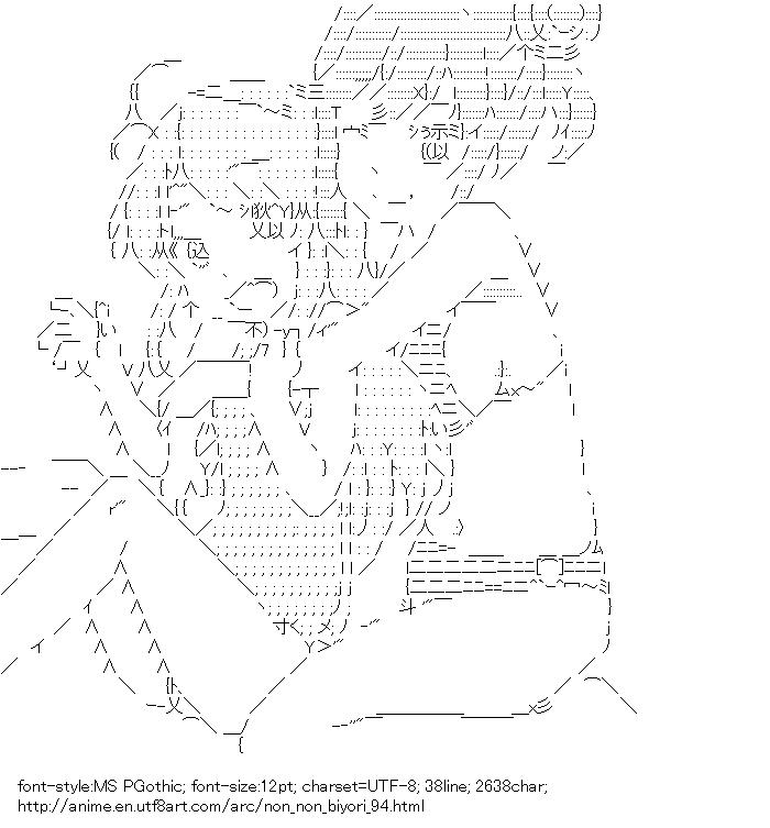 Non Non Biyori,Koshigaya Komari,Ichijo Hotaru,Bathing suit
