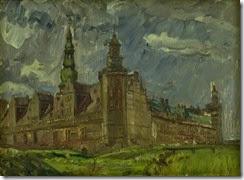 Albert_Gottschalk_-_Kronborg_set_fra_sydøst