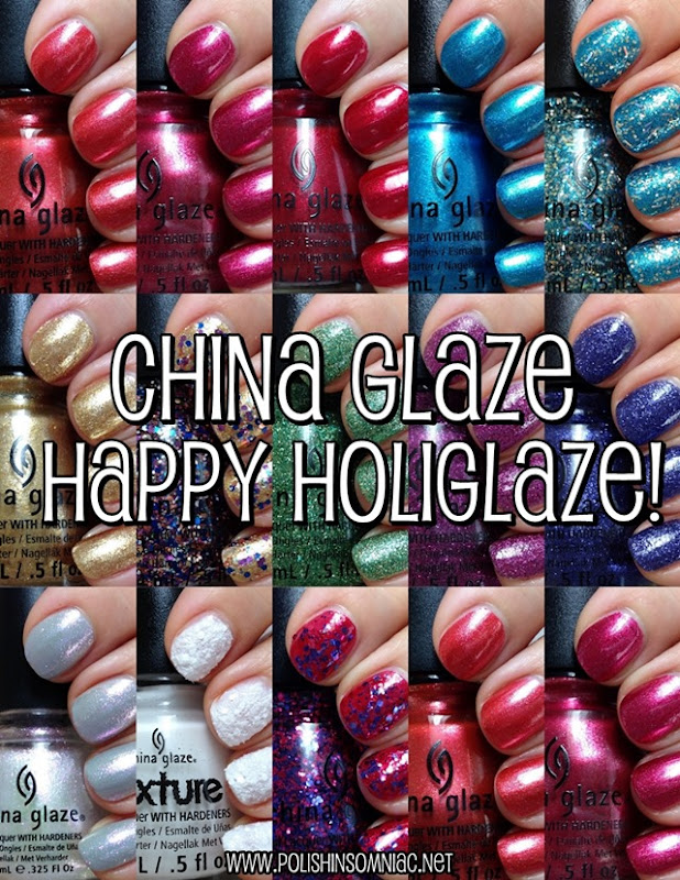China Glaze Happy HoliGlaze #nails #holiday #chinaglaze