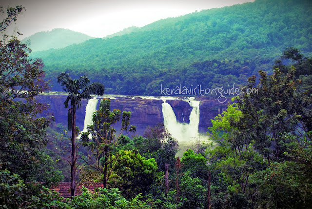kerala water fall Athirapally