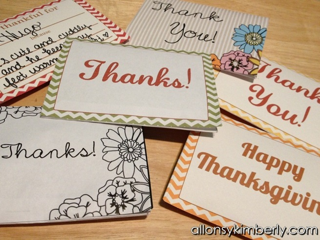 Thanksgiving Giftbox Printables | allonsykimberly.com