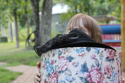 Hat box bigger thn Aubrey