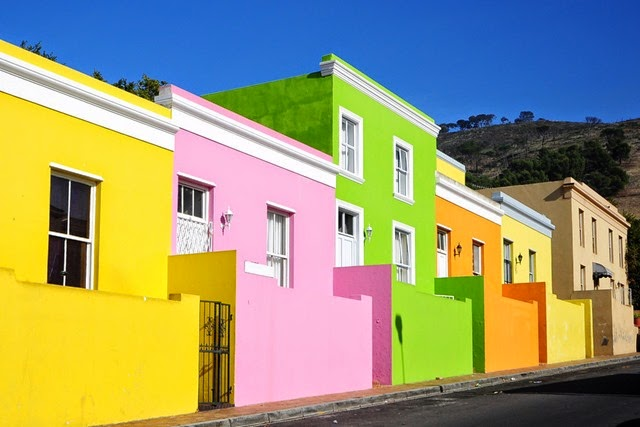 Bo-Kaap in Capetown, South Africa
