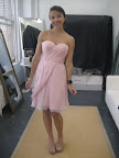 I loved the pink tone of this Ivy & Astor dress.