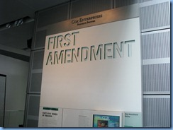 1529 Washington, D.C. - Newseum - First Amendment Gallery