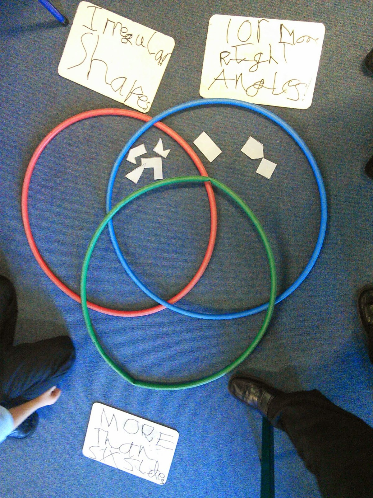 Cromer junior school y3 sorting 2d shapes year 3 used venn diagrams to sort shapes ccuart Choice Image