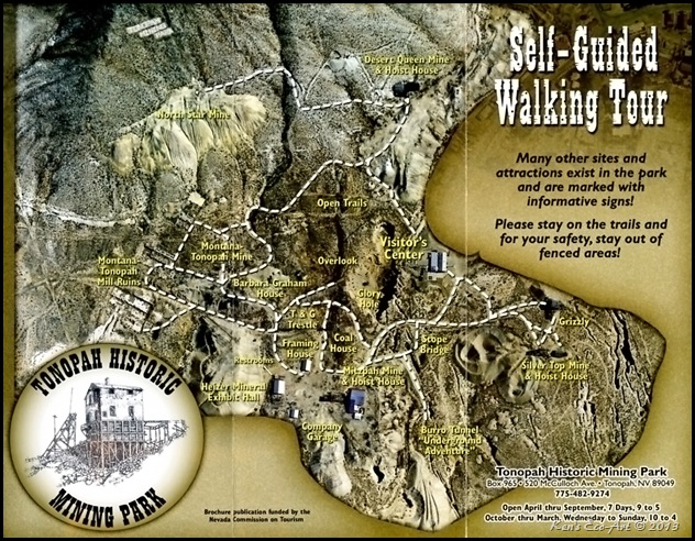Tonopah Mining Park Map001